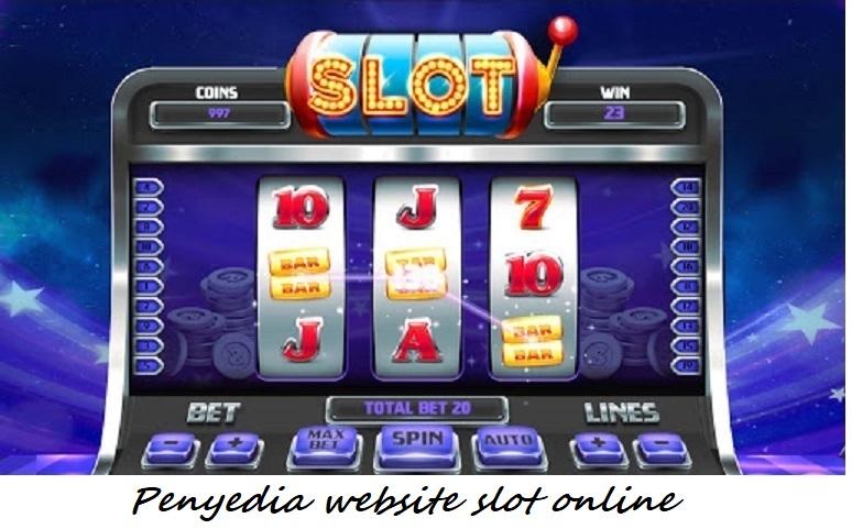 Penyedia website slot online